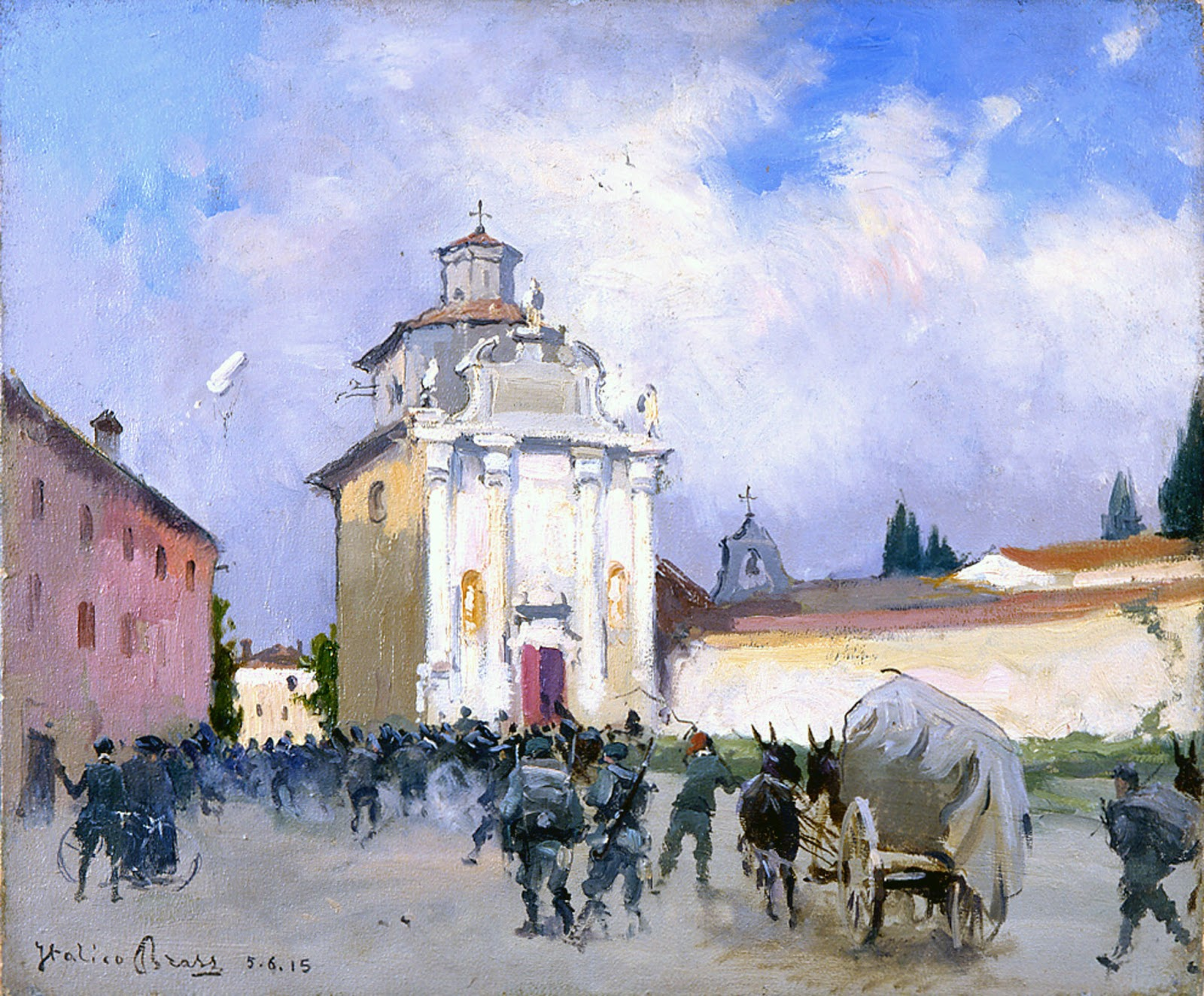 Italico  rass Soldati a Palmanova