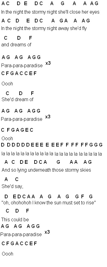 Flute Sheet Music Paradise