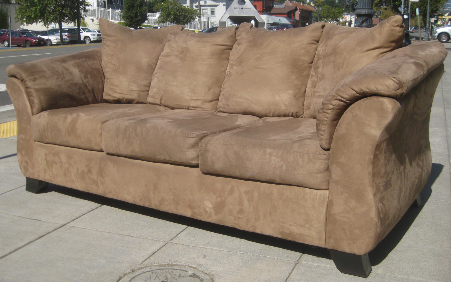 How do u clean a suede couch home improvement for Suede sectional