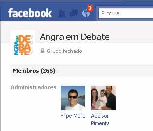 Facebook - Angra em Debate