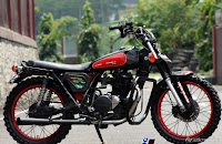 MODIFIKASI KAWASAKI BINTER MERZY-MODIFIKASI-super moto