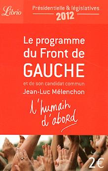 Programme du Front De Gauche