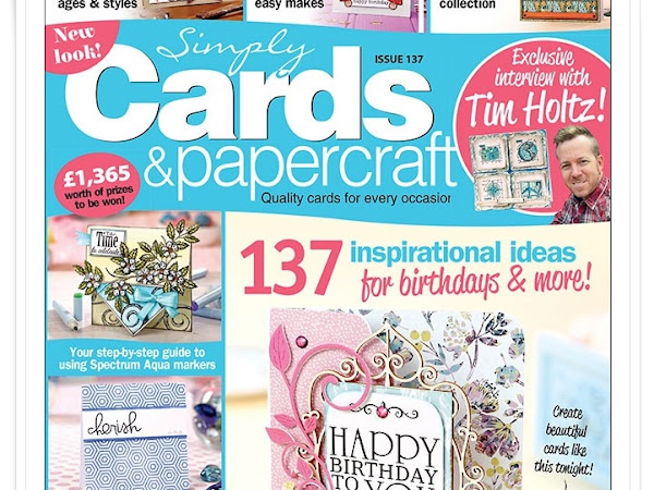Cards for Simply Cards & Papercraft #137