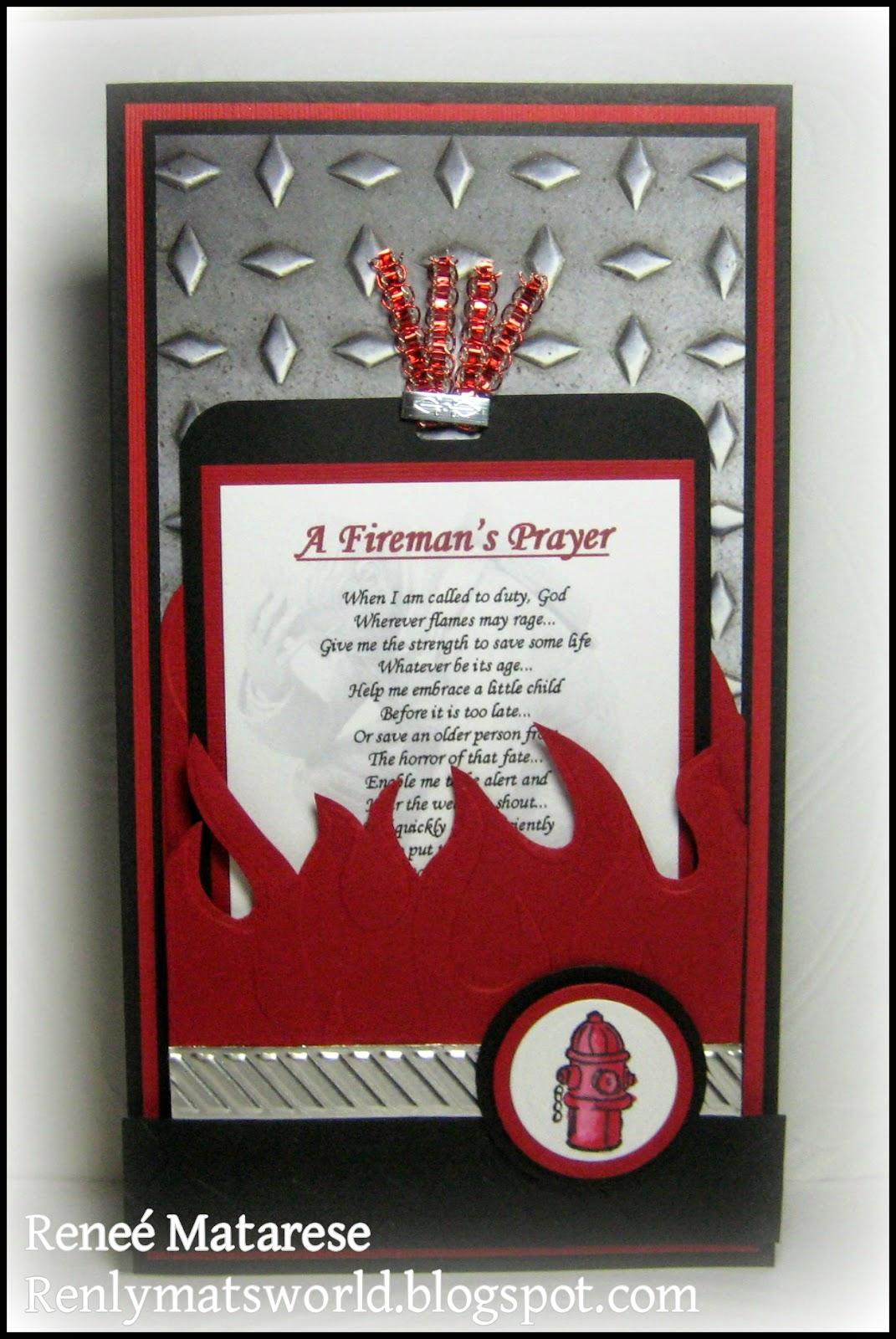 Renlymats World Firefighter Congratulations