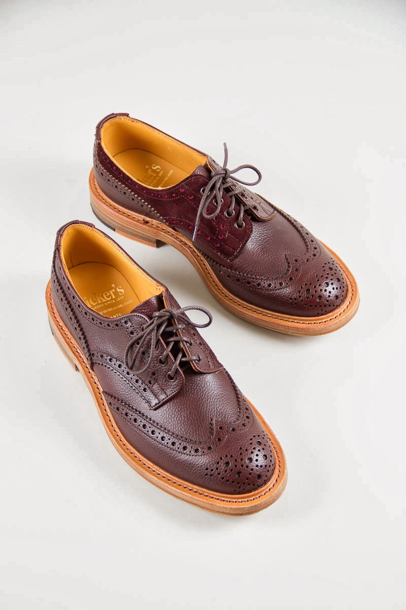 Wear different tricker s for the bureau belfast brown zug for Bureau belfast