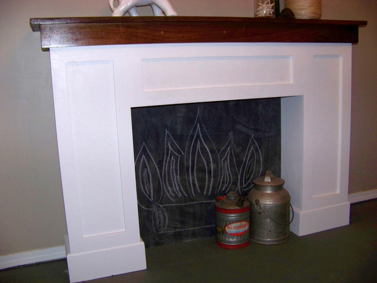 The Sunset Lane Diy From Ugly Dresser Hutch To Fabulous Mantel