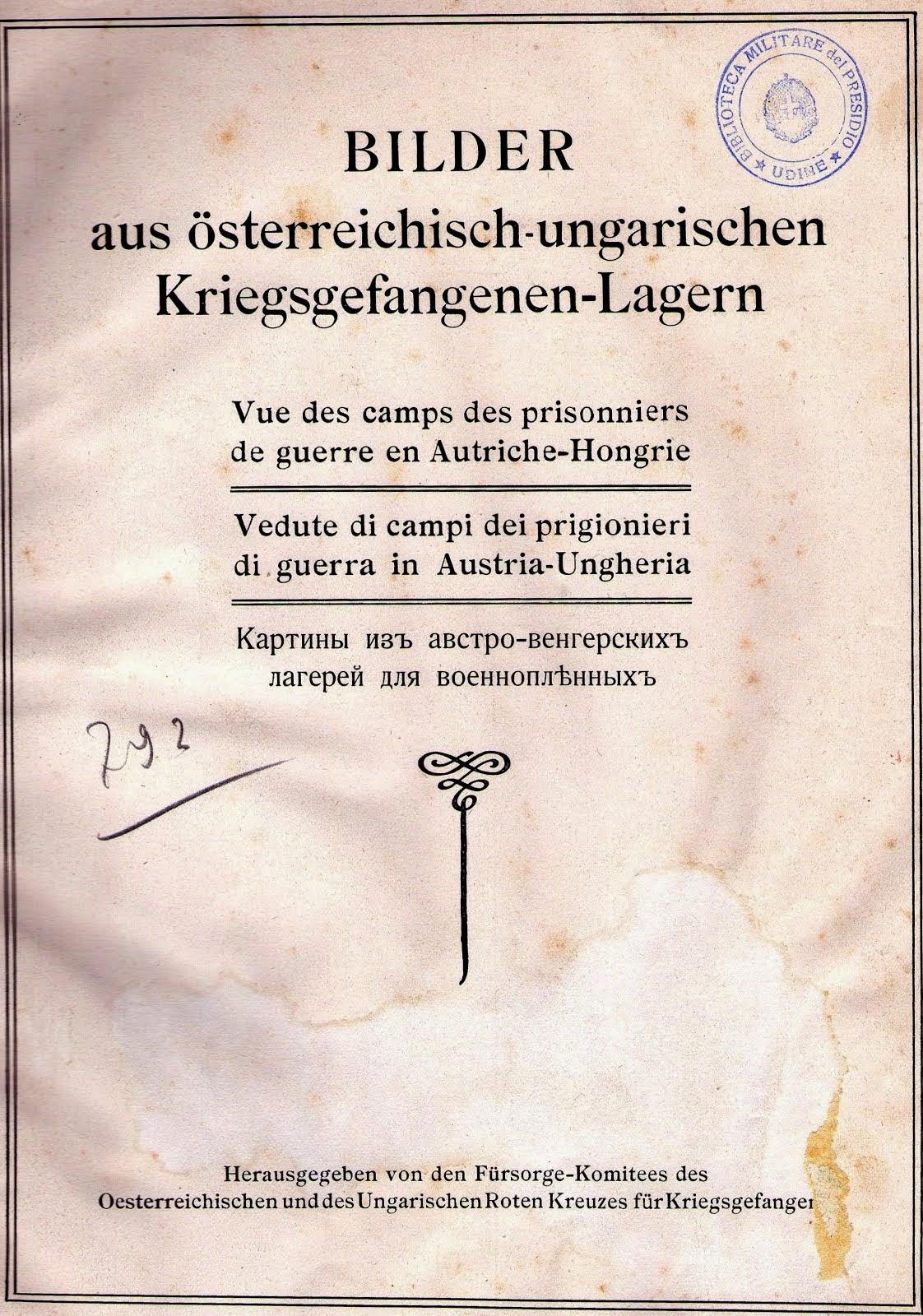 Vedute di campi di prigionieri di guerra in Austria-Ungheria