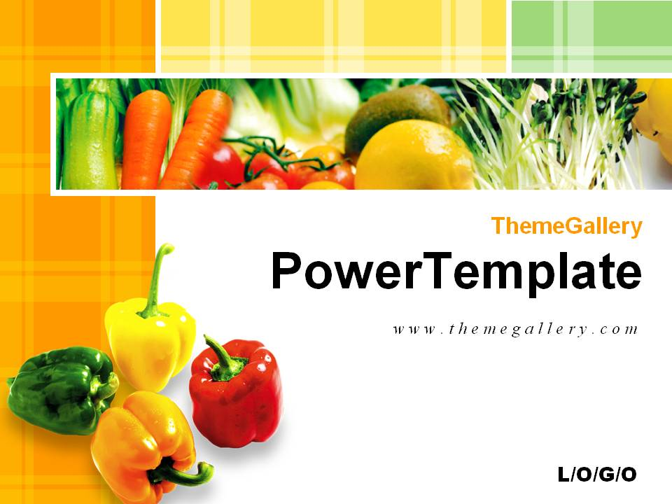 Plant powerpoint template 3