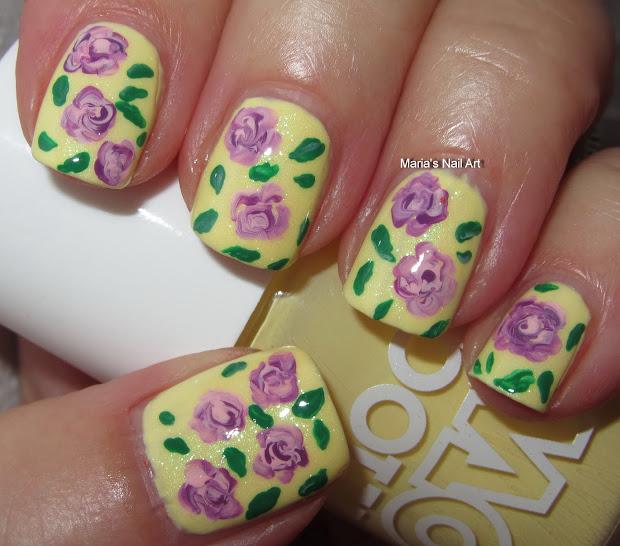purple roses lemon meringue