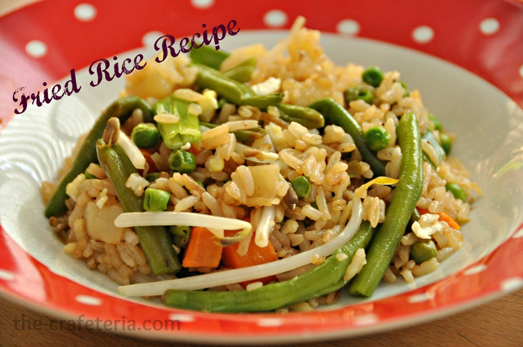 Fried Rice Recipe @ The Crafeteria