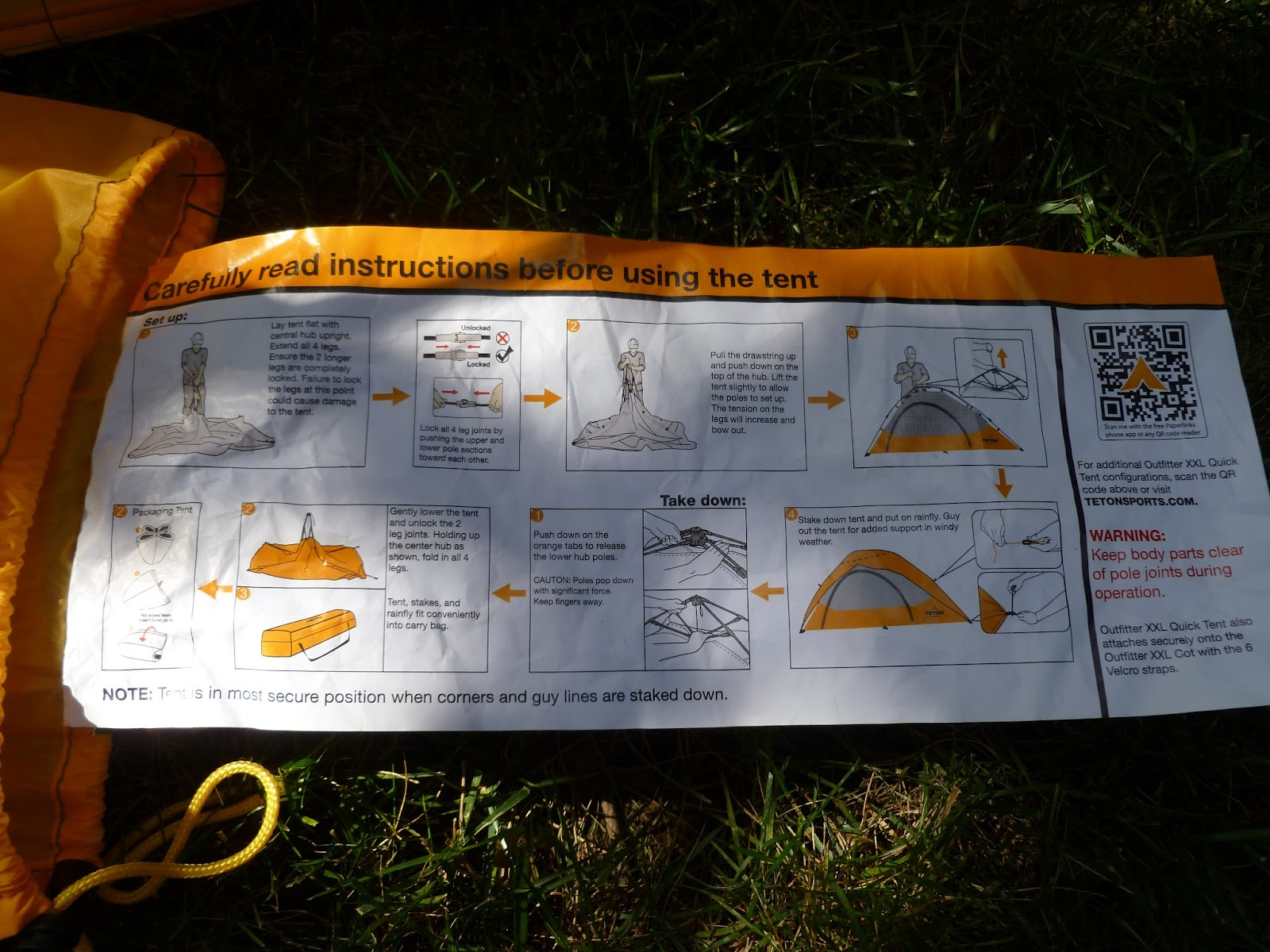 One you have removed the tent from the storage bag itu0027s a simple matter to lay the tent out flat on the ground and set aside the rain cover and bag of ... & Hoosier Bushcraft u0026 Outdoors: First Thoughts On The Teton ...
