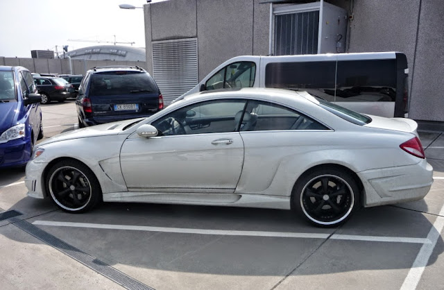 mercedes cl 216 tuning