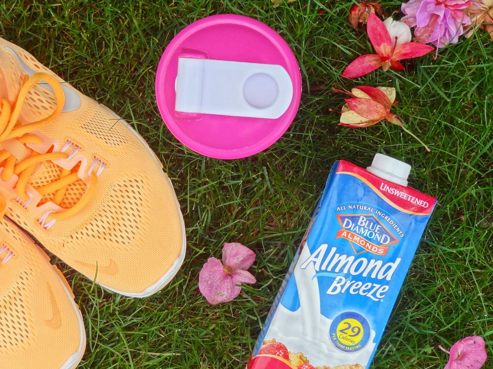 Blue Diamond Almond Breeze Milk Nike Protein Shake