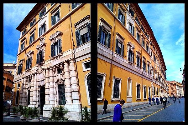 Boczna elewacja Palazzo Madama