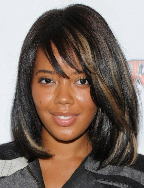 Women Black Hairstyles 2015 for Medium Hair