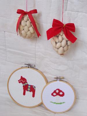 Pistachio ornaments