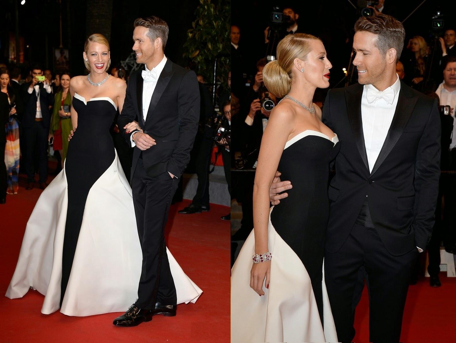 Ryan Reynolds Tuxedo Cannes 2014