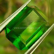 Batu Permata Green Tektite - SP864