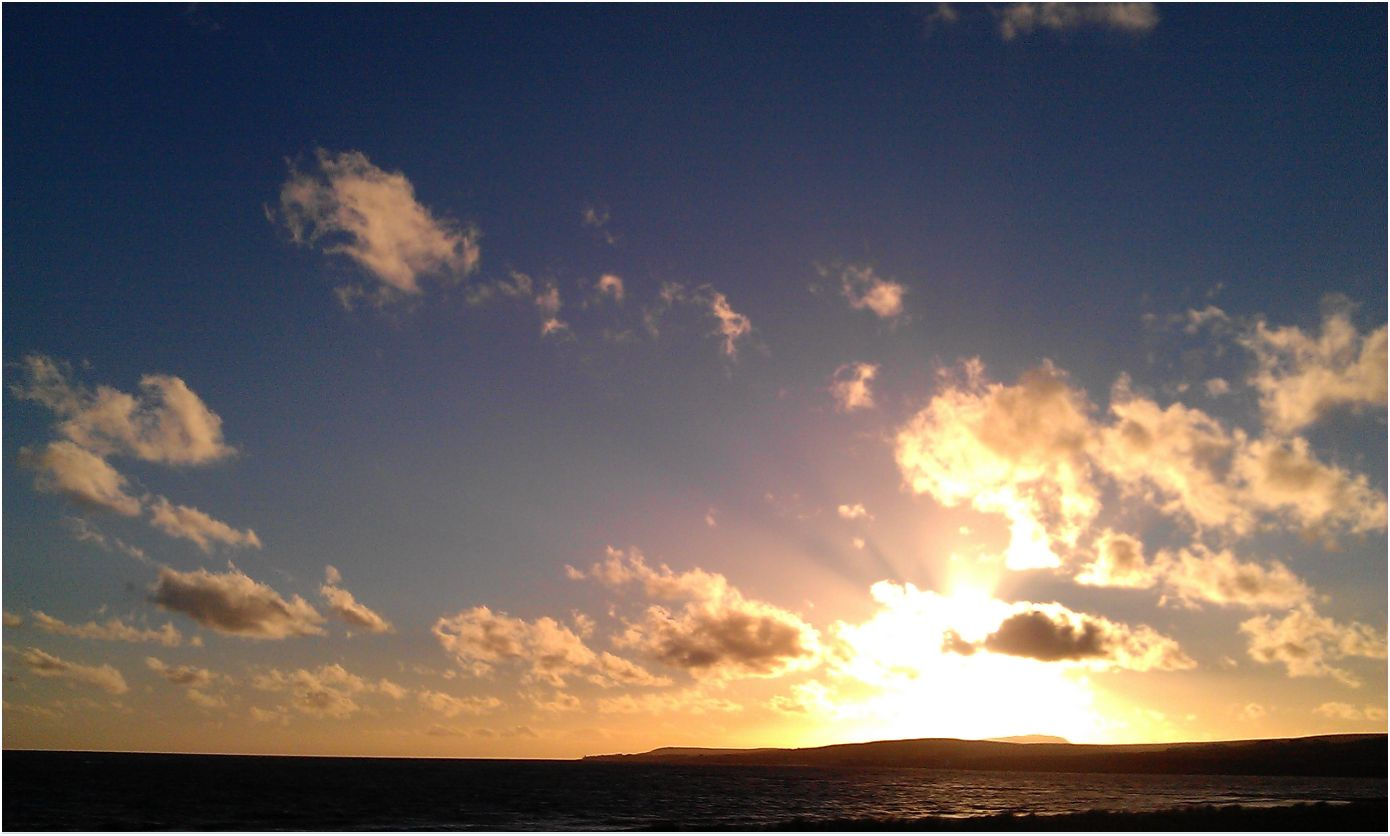 Islay Natural History Trust: Afternoon sun - Loch Indaal ...