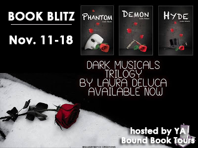 {Excerpt+Giveaway} Dark Musicals Trilogy by Laura Deluca