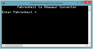 Fahrenheit to Réaumur Converter