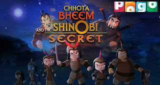 Chota bheem and the shinobi secret full movie in hindi online