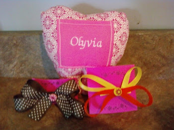 Olyvia Toothfairy Pillow and Bows