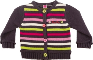 Girls Striped Knitted Sweater - Tuc Tuc Kingdom