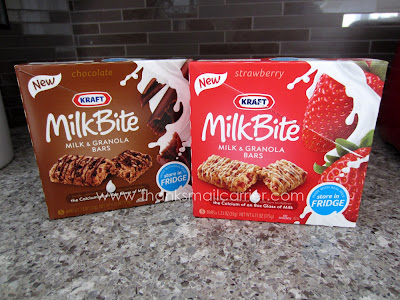 Kraft MilkBite Milk & Granola Bars review