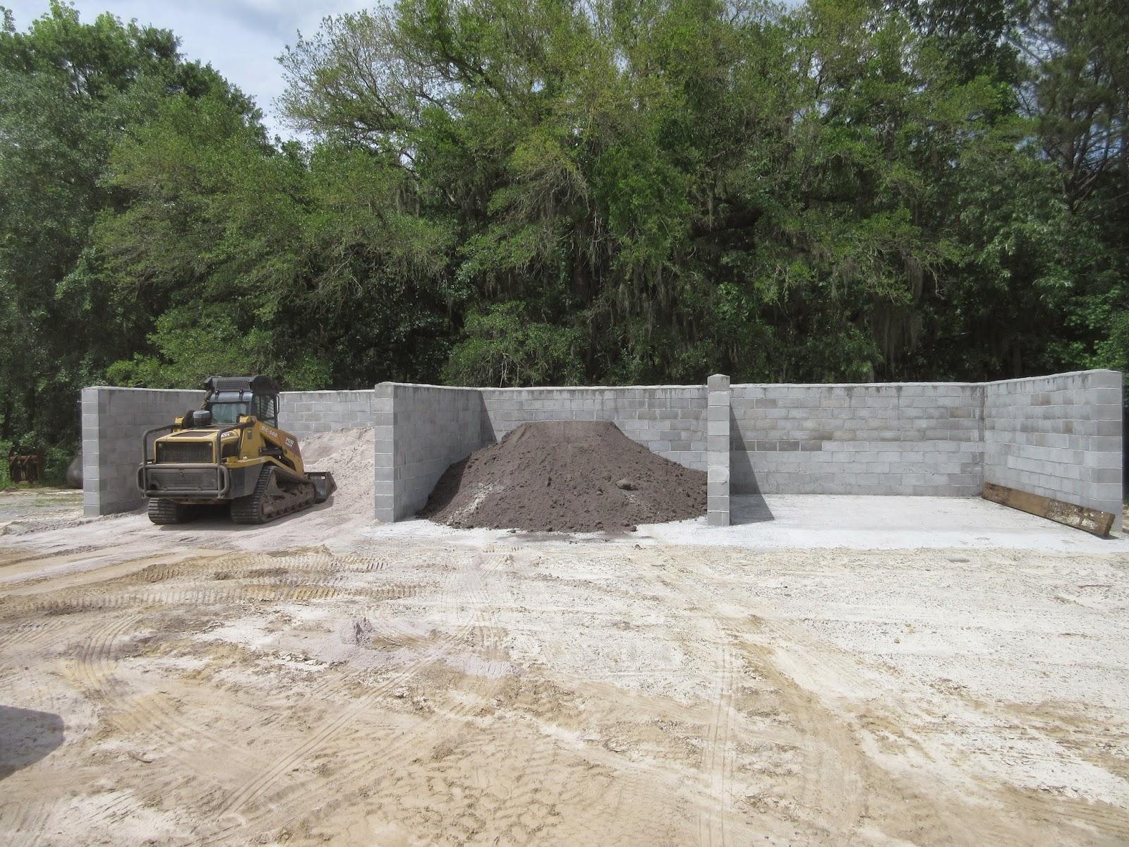 Material Storage Bins & Brays Island Plantation Greens Renovation: Material Storage Bins