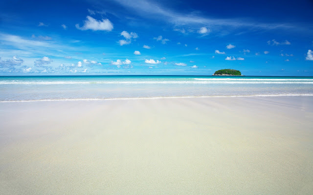 Far away island | Beaches | Nature Wallpaper