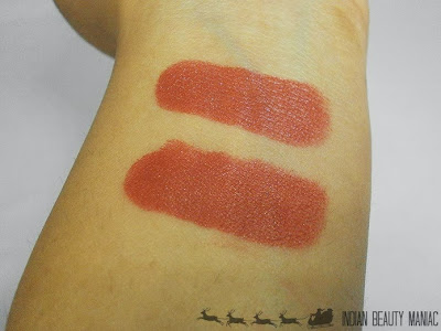 Lakme 9 to 5 Lipstick in MR5 Roseate Motive Swatch