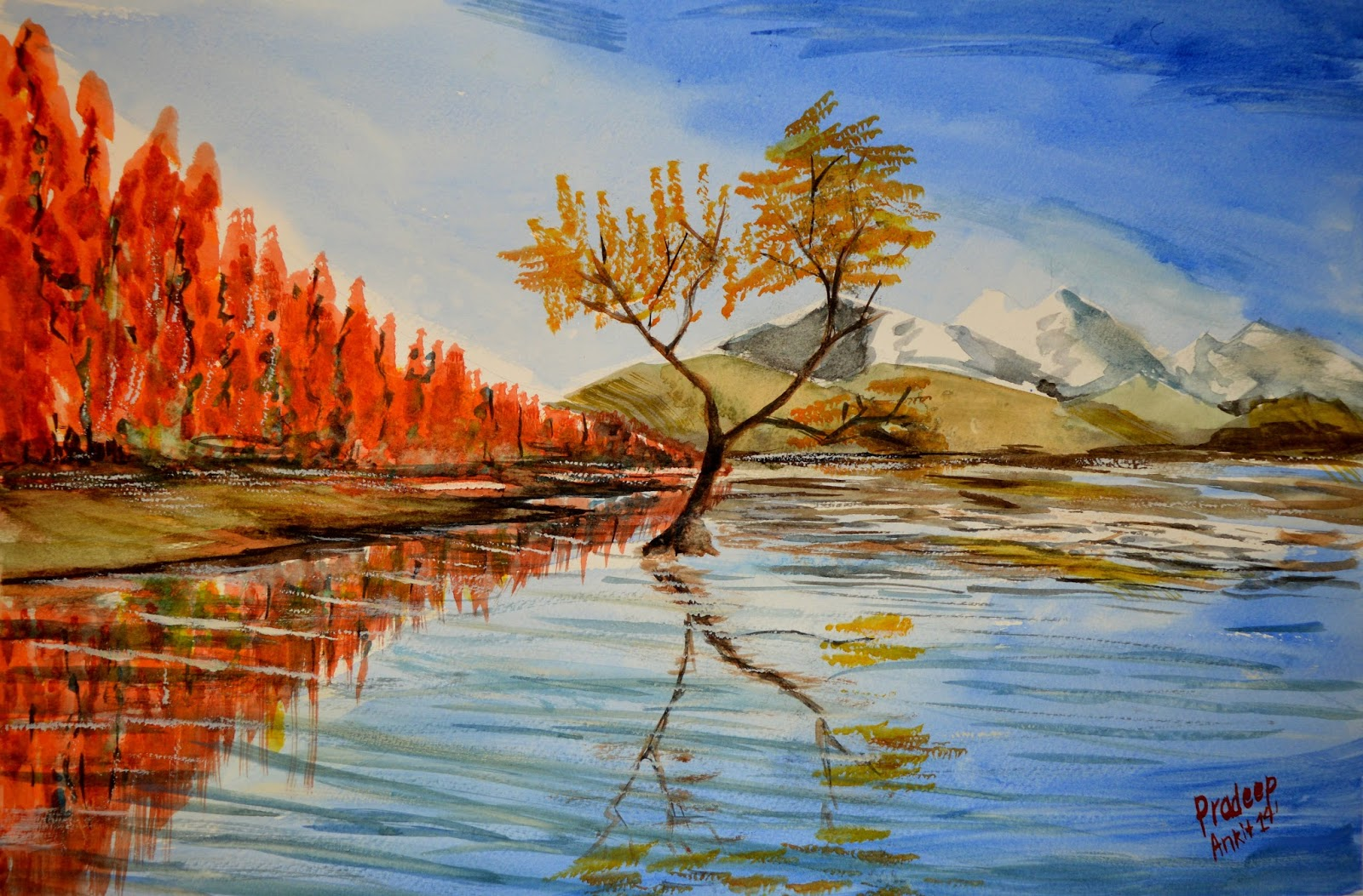A Reflection of You Painting