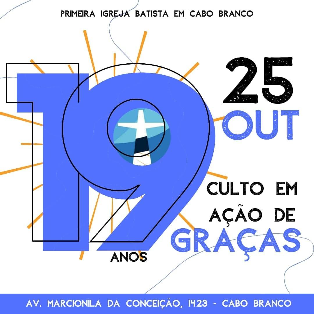 19 anos da PIB em Cabo Branco