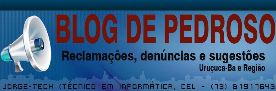 BLOG DE PEDROSO