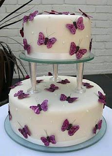 Tortas de Boda con Mariposas, parte 3