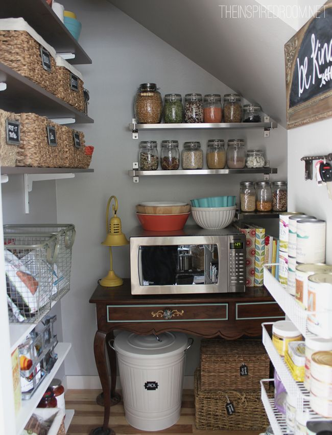 Stairs Pantry Kitchen Pantries Pantry Design Organized