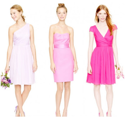 Pink Wear Again Bridesmaid Dresses