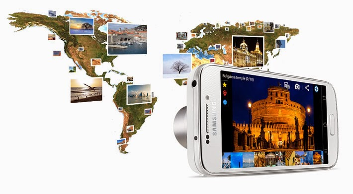 Samsung Galaxy S4 Zoom Smartphone Android Review
