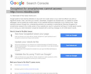 Bahaya Disallow M=1 Dan M=0 Pada Robots.txt Atau Algoritma Google Mobile Tidak Akan Merayapi Blog Versi Mobile Anda