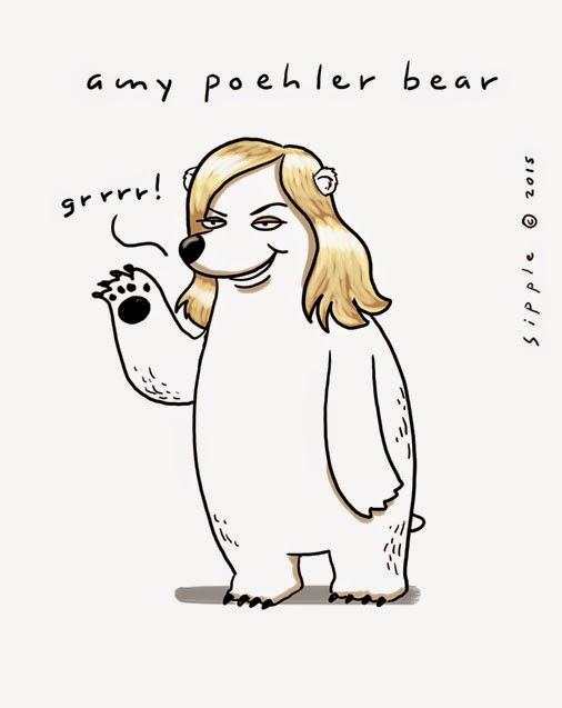 amy poehler bear