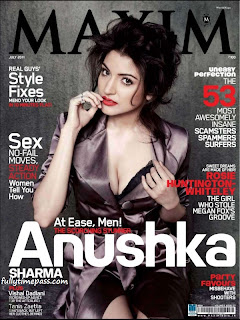 Anushka Sharma goes glam for Maxim