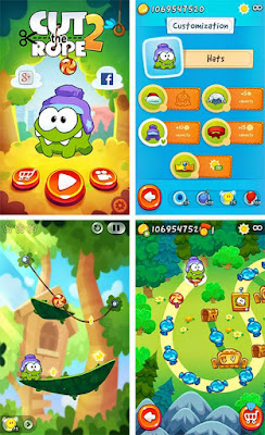 Cut the Rope 2 Modded Apk