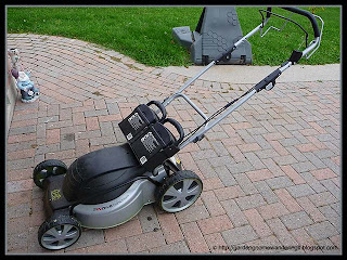 our new Epic cordless, electric self-propelled mower