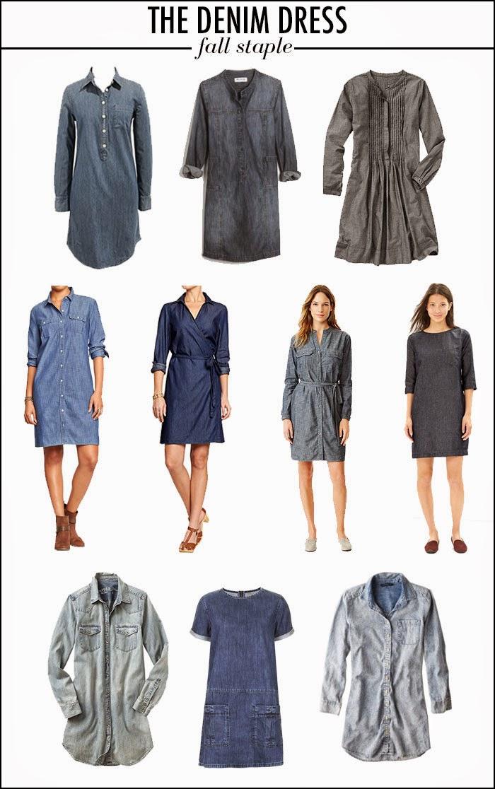 Denim Dresses for fall, denim dresses for under $100, denim dresses for under $50, denim dresses for under $30