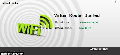 Virtual Router Simplicity