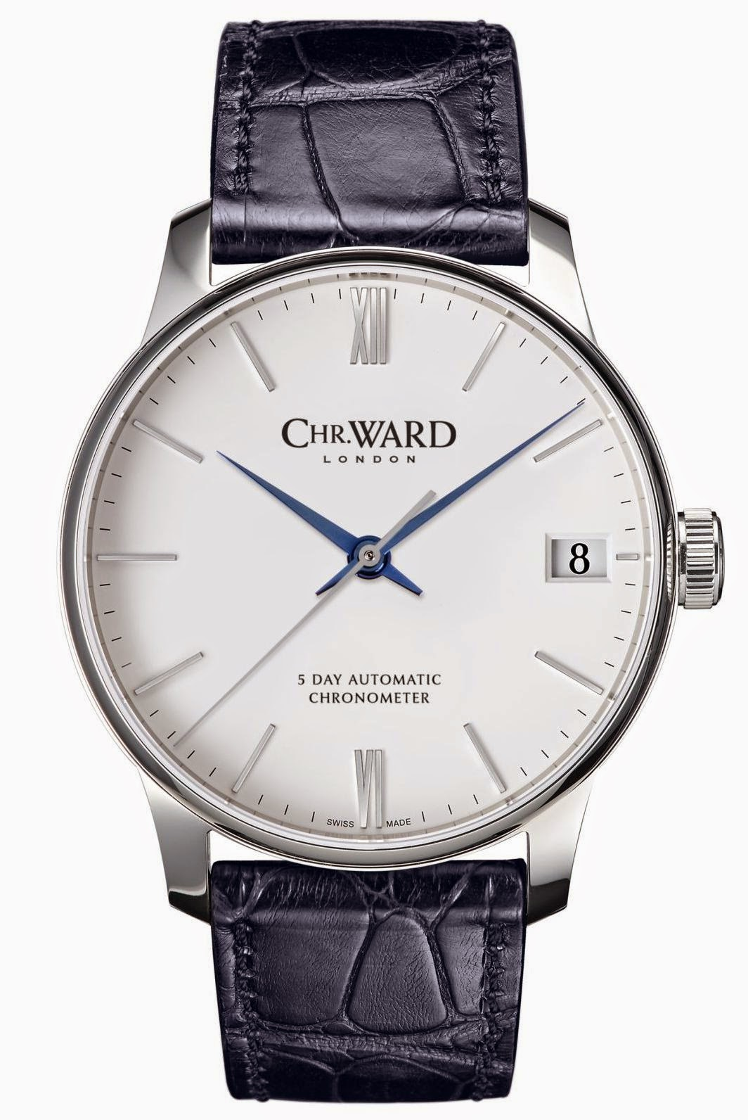 neue uhr christopher ward c9 5 day automatic 40mm. Black Bedroom Furniture Sets. Home Design Ideas