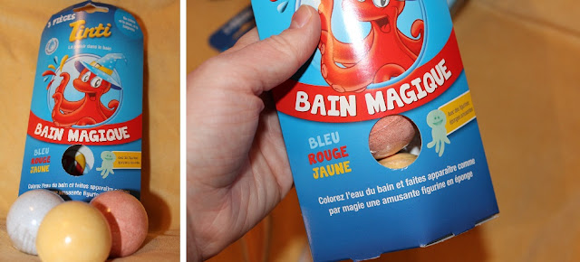 colorer l'eau du bain