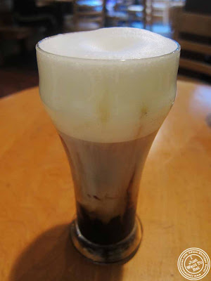 image of macchiato at Small World Coffee in Princeton, NJ