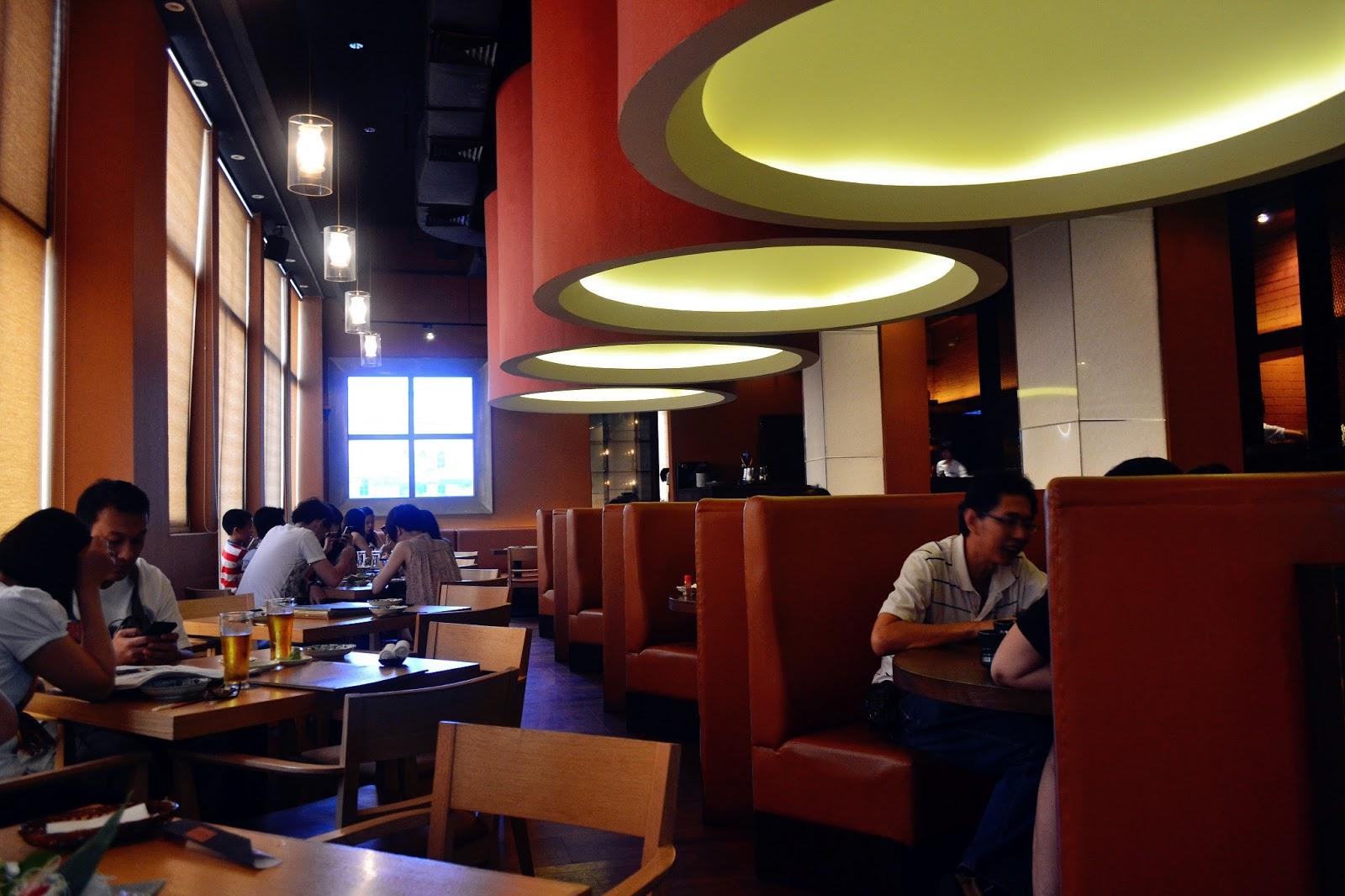Jz world zen japanese restaurant sunway pyramid